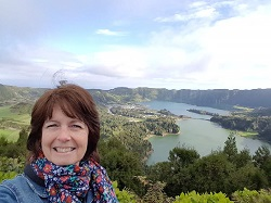 Joanne Tinlin in Azores