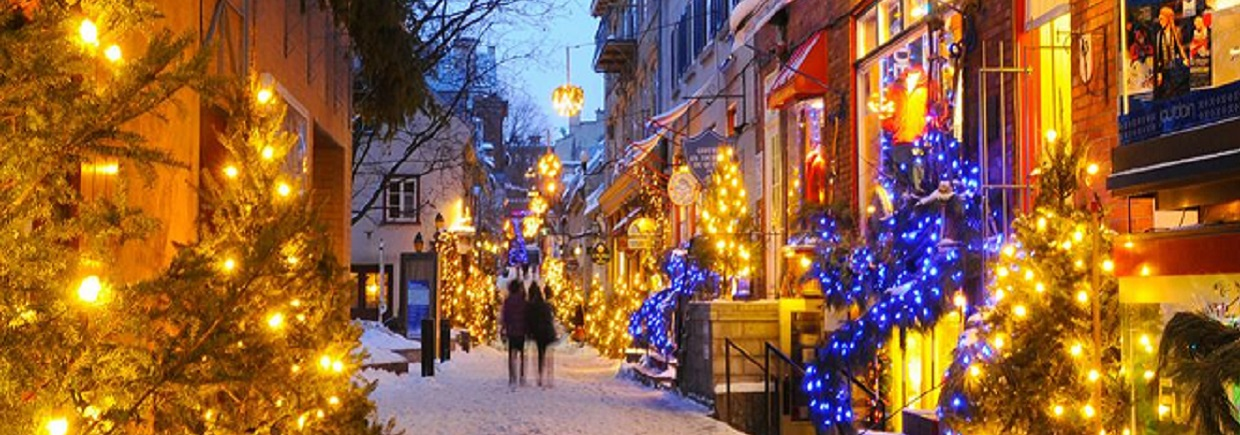 A Magical Christmas in Old Quebec City - Dec 21, 2018